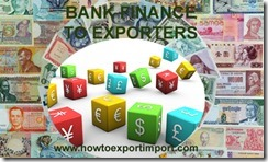 Bank finance to Exporters