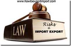 legal risks in import and export
