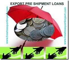 Bank loans to exporters as packing credit