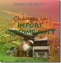 Exemption of customs duty on Cash and bank note dispensers,Indian Budget 2015-16