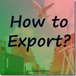 Export procedures and formalities