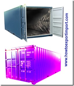Difference between insulated container and common dry container