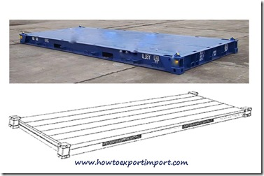 Plat form container