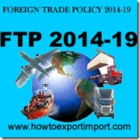 Foreign Trade Policy 2014-19