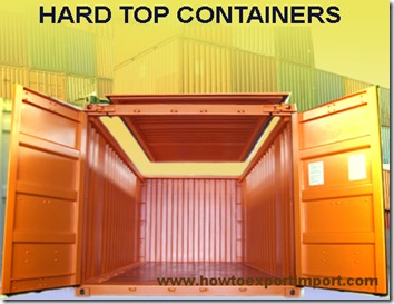 hard top containers