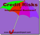 how to solve credit risks in international business
