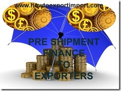 Bank loan to exporters