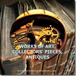 97 WORKS OF ART. COLLECTORS' PIECES, ANTIQUES
