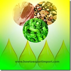 Tips to importers of Animal fats, Animal oil, vegetable fats,vegetable oil etc