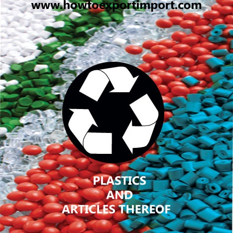 6 Digit Hs Codes Chapter 39 Plastics And Articles Thereof