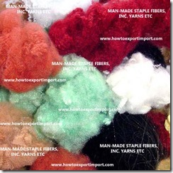 55 MAN-MADE STAPLE FIBERS, INC. YARNS ETC