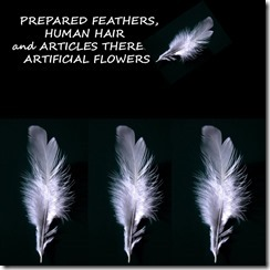 67 PREPARED FEATHERS