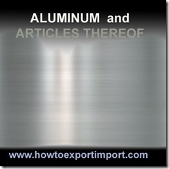 76 ALUMINUM ARTICLES THEREOF
