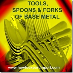82 TOOLS, SPOONS