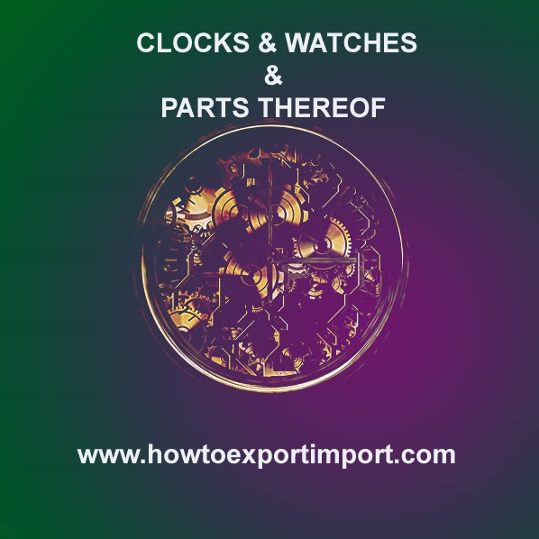 hs codes clocks and watches and parts thereof. Black Bedroom Furniture Sets. Home Design Ideas