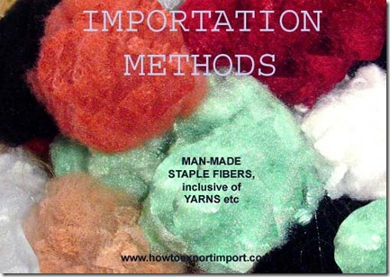 55 How to MAN-MADE STAPLE FIBERS, INC. YARNS ETC