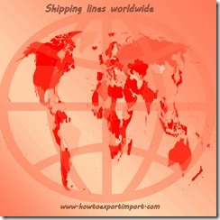 major shipping lines worldwide