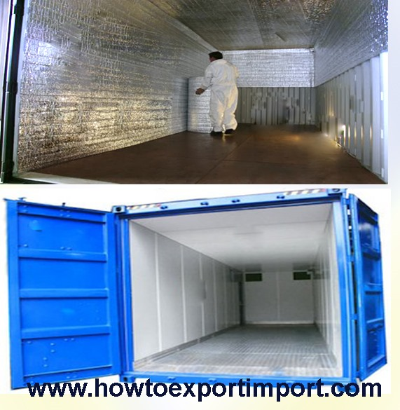 Advantages of using insulated containers - How to insulate a shipping container home ...
