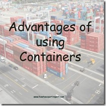 ADVANTAGES OF USING CONTAINERS copy
