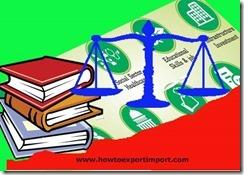 Advance Against Undrawn Balances under Export