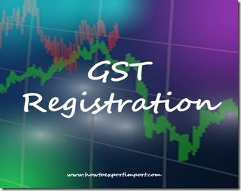 enrolment with GST common portal for registration
