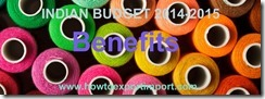 Budget 2014, benefits for industries of handicraft,textiles made ups etc