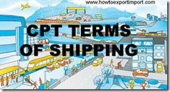 CPT terms of shipping made simple
