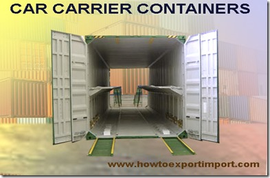 car carrier containers