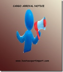 Cargo Arrival Notice (CAN) Some facts copy