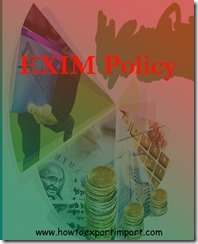 EXIM policy 2015-20