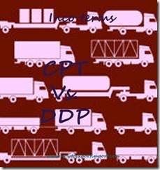 Difference between CPT and DDP in shipping terms copy