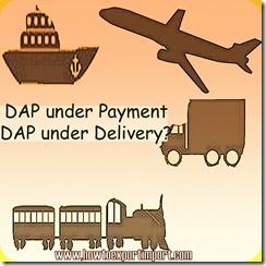 Difference between DAP in payment terms and DAP in delivery terms copy