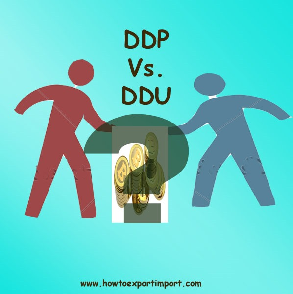 difference between ddp and ddu terms of delivery