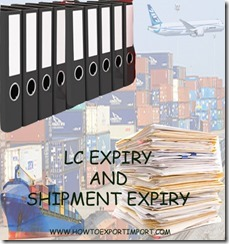 Difference between LC expiry and shipment date expiry copy
