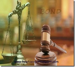 Difference between bond execution and bond acceptance copy