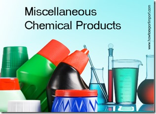 Miscellaneous Chemical Products