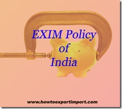 1EXIM policy OF INDIA 2015-20