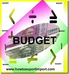 Duty tariff changes in customs to import furniture, lamps and lighting fittings, nameplates and the like under Indian Budget