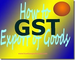 E-FPB under GST tax system in India
