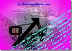 Export Contract under Import and Export