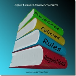Export customs clearance procedures and formalities in India copy