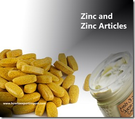 Zinc and Zinc Articles