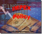 IMPEX Policy 2015-20 B