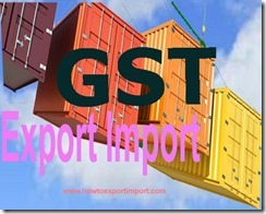 GST Tax calculation on returned goods in India