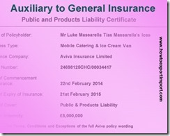 GST Tax for insurance auxiliary services concerning general insurance business