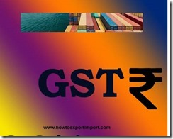 GST amount of rate on Conveyor or transmission belts or belting, of vulcanised rubber