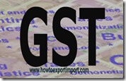 GST imposed rate on Walking sticks, seat-sticks, whips, riding-crops and the like business