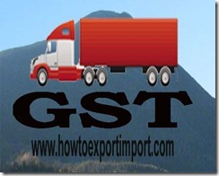 GST amount of rate on purchase or sale of Prepared rubber accelerators