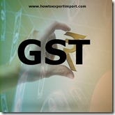 GST payable rate on Slate and articles of slate or of agglomerated slate business
