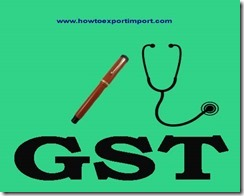 GST amount of rate on sale or purchase of Articles of yarn, strip